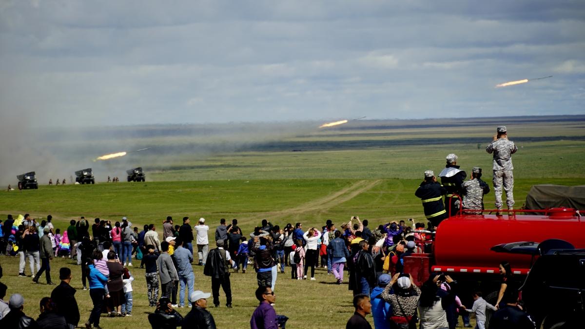 """Монгол улс, ОХУ-ын хамтарсан """"Сэлэнгэ-2019"""" тактикийн хээрийн сургуулилт таван жилийн дараа Чойбалсан хотод боллоо"""