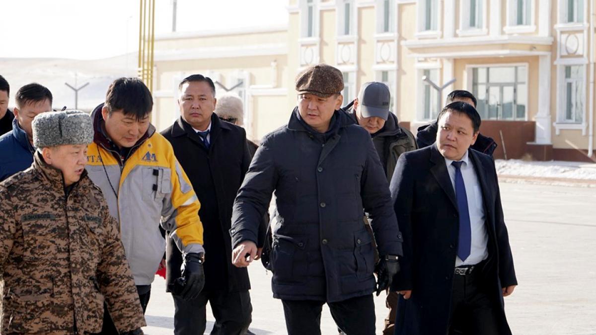 Монгол улсын Ерөнхий сайд У.Хүрэлсүх Халх гол суманд ажиллалаа