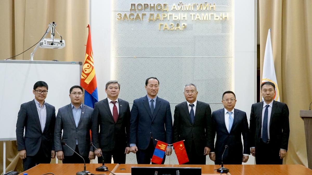 БНХАУ-аас Монгол улсад суугаа Элчин сайдын яамны Элчин зөвлөхийг хүлээн авч уулзлаа