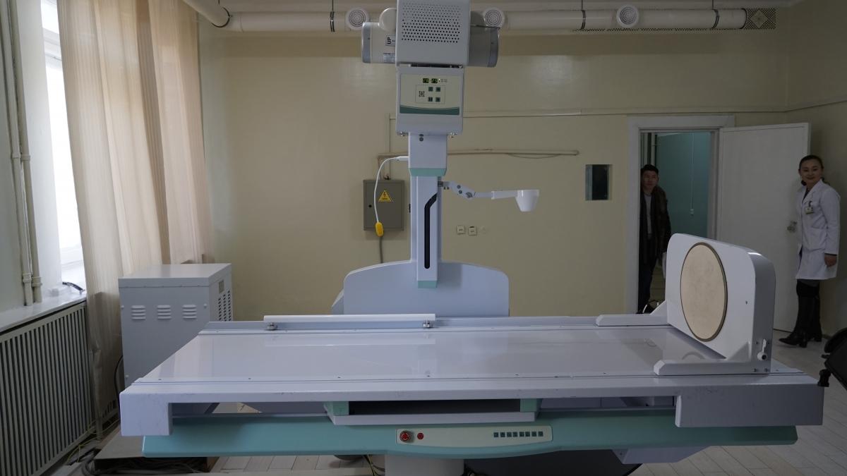 БОЭТ хамгийн сүүлийн үеийн дижитал рентген аппараттай боллоо