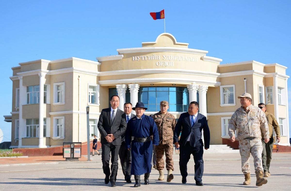 Монгол Улсын Ерөнхийлөгч Х.Баттулга Дорнод аймгийн Халхгол суманд ажиллав