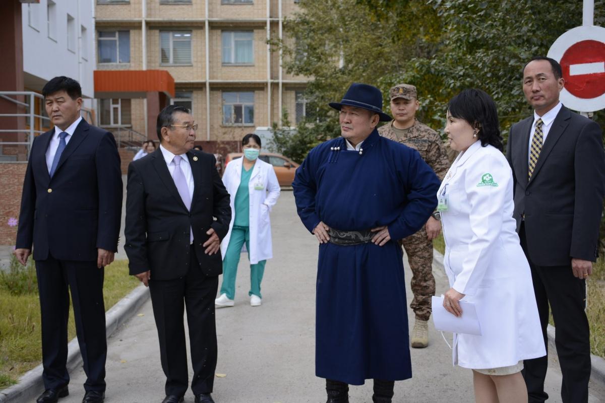 Монгол улсын Ерөнхийлөгч Х.Баттулга Дорнод аймгийн зарим байгууллага, аж ахуй нэгжийн үйл ажиллагаатай нь танилцлаа