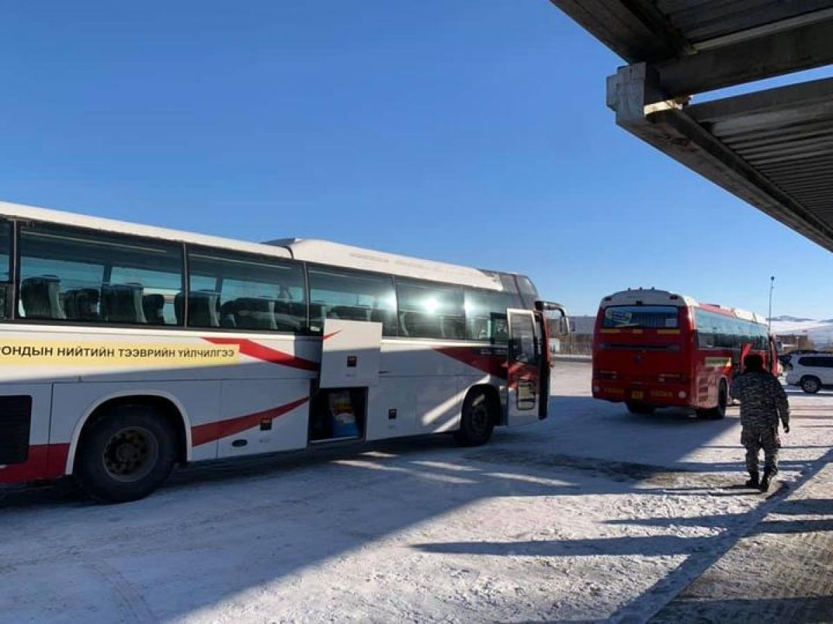 2020.12.18-наас 12.24-ний өдрийн 06:00 цаг  хүртэл хот хоорондын нийтийн тээвэр явахгүй